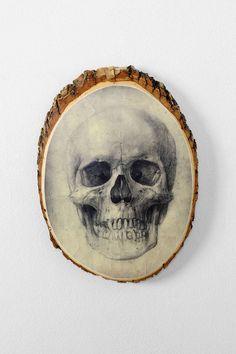 Skull Plaque ($24)