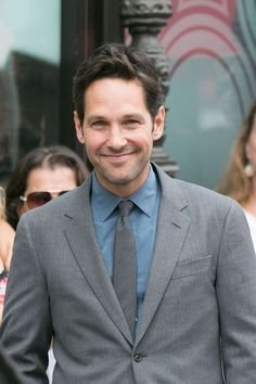 Paul Rudd - Funny, quirky, adorable. What more do you need?