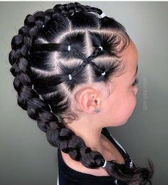 50 Easy Hairstyles For Black Women Baby Girl Hairstyles Black easy hairstyles women Lil Girl Hairstyles, Girls Natural Hairstyles, Kids Braided Hairstyles, Box Braids Hairstyles, Natural Hair Styles, Long Hair Styles, Mixed Kids Hairstyles, Braid Styles For Kids, Hairstyles For Black Kids