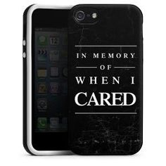 Silikon Case in memory of when I cared: 19,95€