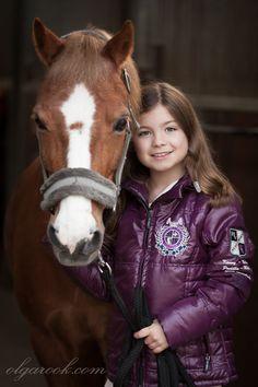 Hailey and her pony Jamie