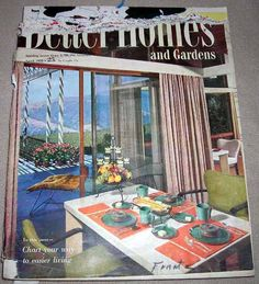better homes and gardens back issue magazine april 1953 oh yes i collect the. beautiful ideas. Home Design Ideas