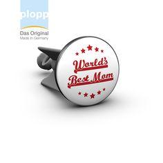 """plopp Waschbeckenstöpsel """"worlds best mom"""" #Muttertag #Geschenkidee  #plopp #bathroom #Geschenke"""