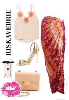 Rok Lilit Batik Series by Riskavebrie Batik Kebaya, Batik Dress, African Fashion, Indian Fashion, Casual Outfits, Fashion Outfits, Womens Fashion, Modern Kebaya, Batik Fashion