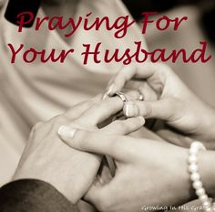 How will we pray for our husbands in the new year? Here is a (one year) plan of prayer for our husbands whether we are married or still looking.