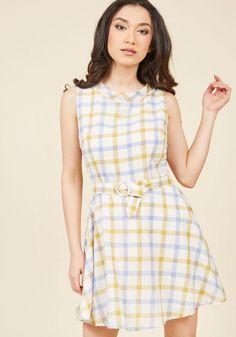 #ModCloth - #ModCloth Collectif Retro Reality A-Line Dress in L - AdoreWe.com