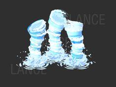 Magia Elemental, Arte Elemental, Elemental Powers, Tornado Gif, Game Effect, Magic Design, Art Optical, Animation Tutorial, Animation Reference