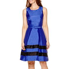 jcpenney.com | R&K Originals® Sleeveless Fit-and-Flare Dress