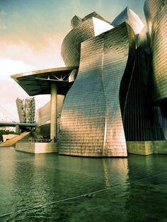 Guggenheim, Bilbao #Spain, #travel