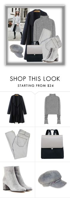 """""""Untitled #1650"""" by ebramos on Polyvore featuring Acne Studios, Current/Elliott, Gianvito Rossi and Nine West"""