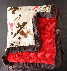 Hey, I found this really awesome Etsy listing at https://www.etsy.com/ca/listing/248425635/minky-blanket-cowboy-minky-cowboy