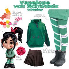 My brain on crack: Kids cosplay: Vanellope