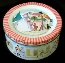 Vintage Mackintosh's Quality Street Tin with Soldier & Lady at Well with Dog