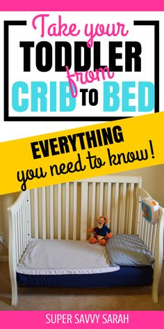 Transitioning your toddler from their crib to a bed can be difficult for everyone. This toddler mom shares her tips, from what bed to use, to how to know if your toddler is ready, to how to transition them! A MUST-READ for all toddler moms! #momtips #toddler #toddlers #momlife