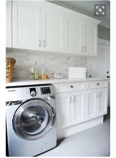 More ideas below: Unfinished Basement laundry room Layout Ideas Before And After. More ideas below: Unfinished Basement laundry room Layout Ideas Before And After Basement laundry r White Laundry Rooms, Laundry Room Bathroom, Laundry Room Layouts, Laundry Room Remodel, Laundry Room Storage, Laundry Room Design, Bathroom Plumbing, Small Laundry, Bath Room