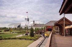 The Depot at Discovery Park of America...What a view!