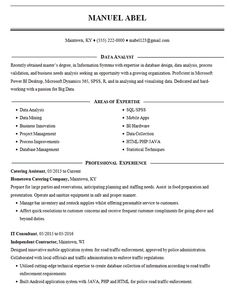 View this IT resume for a data mining and analysis expert with over 10 years of experience in information technology and database management. Free Resume Builder, Engineering Resume, Database Design, Create A Resume, Microsoft Dynamics, Student Resume, Business Innovation, Resume Examples
