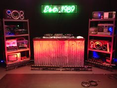 diy dj booth - Google Search                                                                                                                                                      More