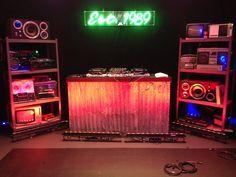 diy dj booth - Google Search                                                                                                                                                      More
