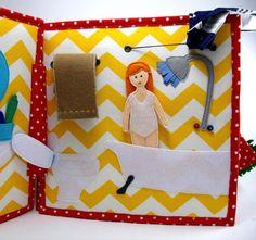 Il grande libro della Dollhouse tranquilla sentivo Activity