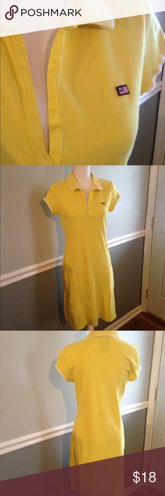 Ralph Lauren Polo Dress Size Medium Ralph Lauren Polo Dress. Size Medium. Yellow Color. Used Condition Some Pilling. Please see photos. Ralph Lauren Dresses