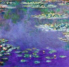 Claude Monet, impressionist painter. Impressionist painting was from 1870-1890