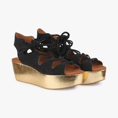 Sandales compensées bicolores - SEE BY CHLOE - Find this product on Bon Marché website - Le Bon Marché Rive Gauche