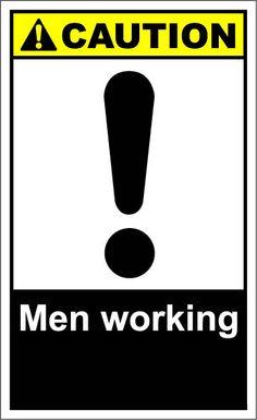 Men at work $1.64 #signs