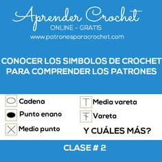 cuales son los simbolos crochet Online Gratis, Crochet Videos, Afghan Crochet, Beginner Crochet, Chain Stitch, Weaving Patterns, Tejidos, Tricot, Craft Work
