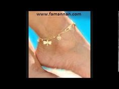 Pazeb Ankle Bracelet Gold And Silver Collection 1950