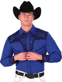 34236 Camisa Vaquera Caballero El General