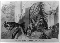 Assassination of President Lincoln, 1865