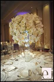 Image result for hydrangea and orchid centerpieces