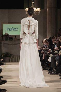 Vestido de novia de Inuñez