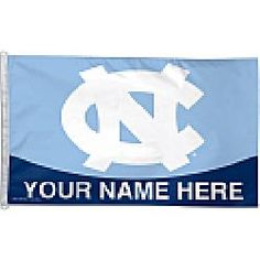Wincraft North Carolina Tar Heels Personalized 3x5 Flag