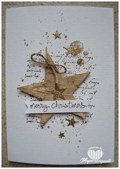 Het bestellen van Stampin Up artikelen en worshops kaarten maken en scrapbook met Stampin Up! Christmas Cards 2017, Homemade Christmas Cards, Christmas Gift Tags, Handmade Christmas, Homemade Cards, Holiday Cards, Merry Christmas, Stampin Up Christmas, Navidad Simple