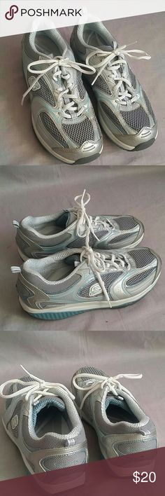 Skechers Shape-ups Shoes 10 Lace-ups Item is in a good condition, NO PETS AND SMOKE FREE HOME. Skechers Shoes