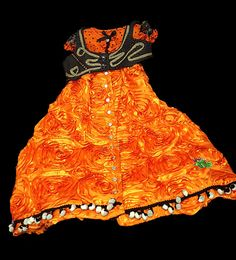 Orange and Black by UrbanPrincessShop on Etsy, $200.00
