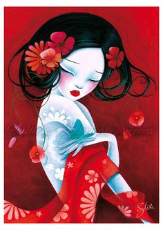 The Modern GEISHA ✿ :: Geisha Illustration - Slinky by LadySybile on deviantart