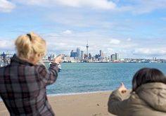 Auckland es una ciudad vibrante y NewZealand maravilloso paraestudiar inglés idiomas verano