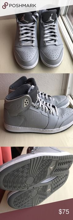 bec85ca5645f5c Wolf Grey Jordan s Wolf grey Jordan Nike Air Prime 5 EUC - only worn out a  few times Jordan Shoes Sneakers