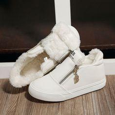 980fcd6d6c4df8 children snow boots fur winter girls women flat Thicken Shoes For baby Kids  child snow brand