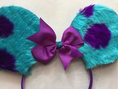 Excited to share the latest addition to my #etsy shop: Sully theme Disney ears