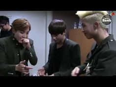 Various beatbox by BTS (face..dog..monster..etc.). Therapy is needed....not >.<