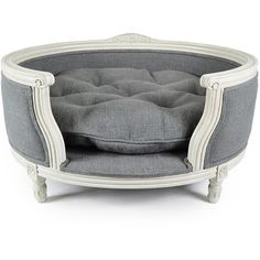 Lord Lou George Stonewash Heavy Burlap Grey Sofa - M found on Polyvore