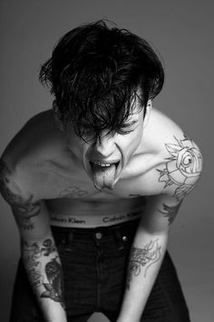 Ash Stymest by Damon Baker 2013 (I saw Ash in the flesh last year and must say I was underwhelmed, BUT we still love him any way.)
