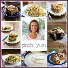 Blogger in Focus: Pinch of Yum - delicious recipes, humorous writing and gorgeous photography - an incredible collection of recipes for Fall