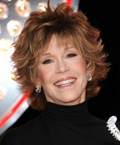7 Sexy Shag Hairstyles Over 40 | Jane Fonda's Current Flippy Shag | Style Goes Strong