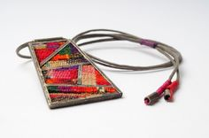 mmpascual - love the idea of taking a particular textile that has meaning to the wearer and making something that will becomes a talisman of sorts...