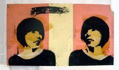 Treiops Treyfid artwork. Sisters. Painting. #treiops #artwork #painting